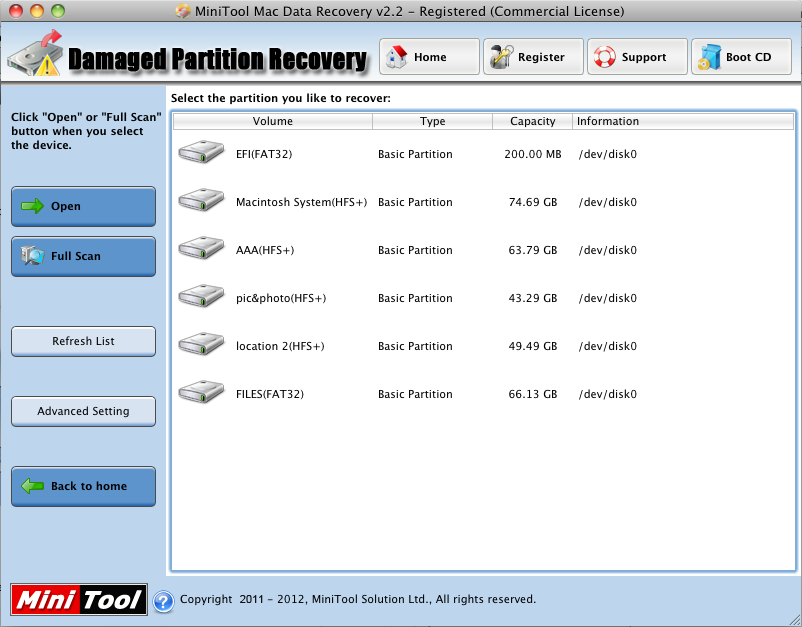 Damaged partition recovery module of data recovery software helps