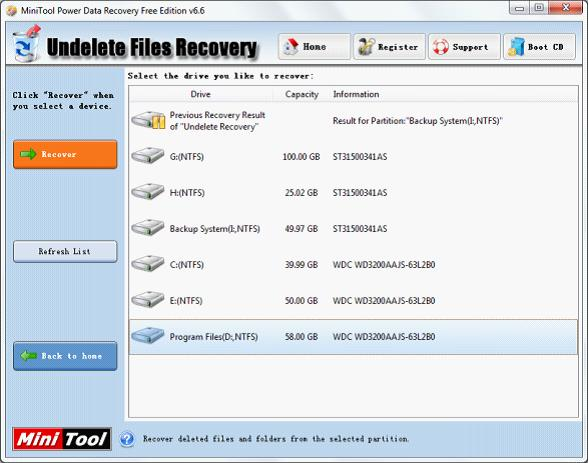 best data recovery software minitool