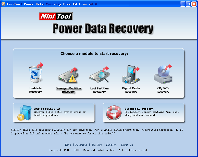 Data recovery from formatted partitions can be done easily